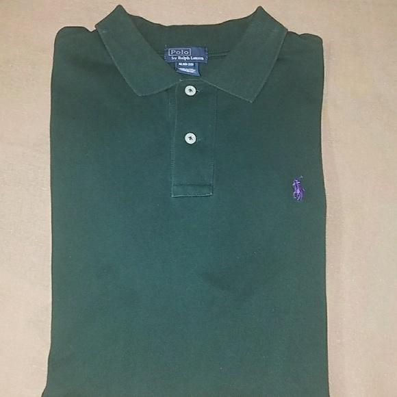 Ralph Lauren Forest Green Polo Shirt ARjcLq345